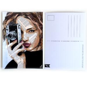 A6 kunst ansichtkaart