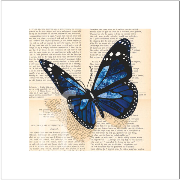 art print vlinder