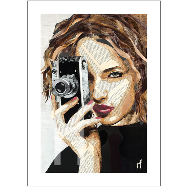 portret camera vrouw
