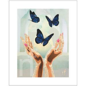 vlinder print