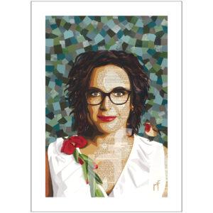 zelfportret Nicolien Fiere